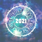 New,Year,And,Christmas,Celebration,Card,Template.,Zodiac,Circle,With